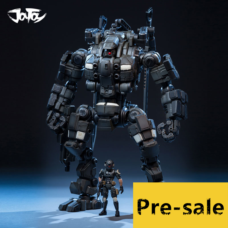 Genuine JOY TOY 1:25 figures robot action military Mecha model HZ-DOUBLE KNIFE Super movable robot model toy Free shipping RE026 free shipping genuine joy toy 1 27 action figure robot military soldier set a birthday present simple packaging