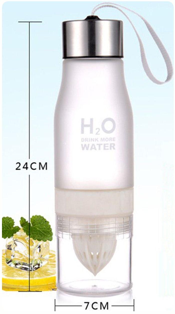 HTB1I5.dkStYBeNjSspaq6yOOFXaX Transhome Creative Fruit Infuser Water Bottle 650ml Portable Plastic Water Bottle For Lemon Juice Sport Drinking Water Bottles