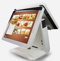 15 zoll Android überprüfen heraus terminal Android touch dual lcd pos-terminal