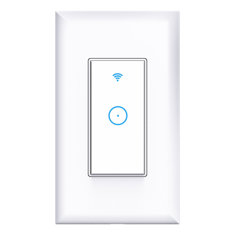 Image 3 - WIFI Wireless Remote Control Switch For AppUS Standard Plug Smart Home Wall Light Switch 1 Gang Work With Google Home-in Remote Controls from Consumer Electronics