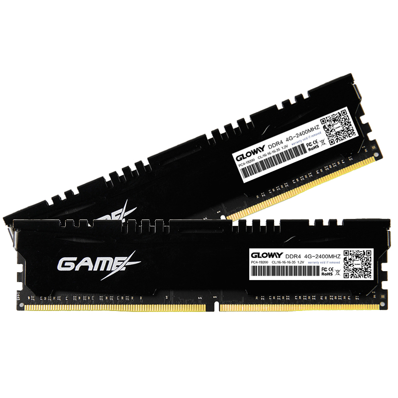High Performance Gloway DDR4 8G*2 DRAM Module 2133Mhz Memory DDR ram For Desktop High Speed For Gaming 4GB*2 dual channel