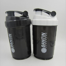 Protein Shaker Mixer Mixer Cup Sport Fitness-studio 3 Schichten Multifunktions bpa-frei Shaker 1 stück