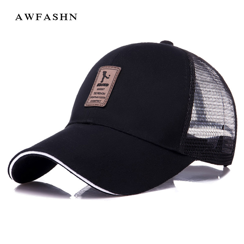 Summer solid   Baseball     Cap   Men's for woman Adjustable   Cap   Casual leisure hats Solid Color Fashion Snapback sport balck hats