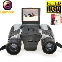 2018 New 12x32 HD Binoculars Digital Camera 5MP CMOS USB Digital Telescope 2 0 TFT 1080p