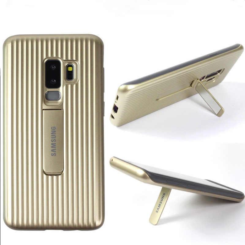 Оригинальный бренд samsung Galaxy S9 S9 + Ultimate полный защитный чехол жесткая подставка Броня чехол для Galaxy S9 S9 Plus чехол для телефона