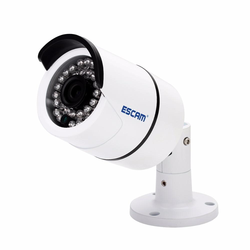 ESCAM QD410 4MP H.265 Início Vigilância CCTV Câmera À Prova D' Água Bala Câmera IP com Visão Noturna IR, Detecção de Movimento