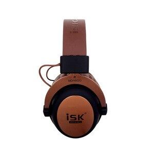 Image 4 - ของแท้ ISK MDH8500 หูฟัง HIFI สเตอริโอ Enclosed Dynamic หูฟัง Professional Studio Monitor หูฟัง Hifi DJ ชุดหูฟัง