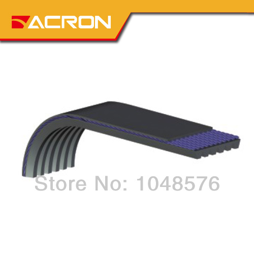 Rubber ribs belt inch:475J-690J Length:1206-1752mm PJ1206 PJ1232 PJ1575 PJ1651 PJ1425 PJ1473 PJ1549 PJ1752 PJ1346 PJ1372 PJ1397 