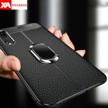Silicone Leather Phone Case For Huawei Mate 20 10 Pro Honor 8X V9 V10 With Magnetic Car Holder Cover For Huawei P20 P30 Pro Lite beautiful glass mobile phone funda cover for huawei honor 10 8x 8x max 9 9i 9lite note10 v10 v9 y9 2019 mate 20 lite p30 pro