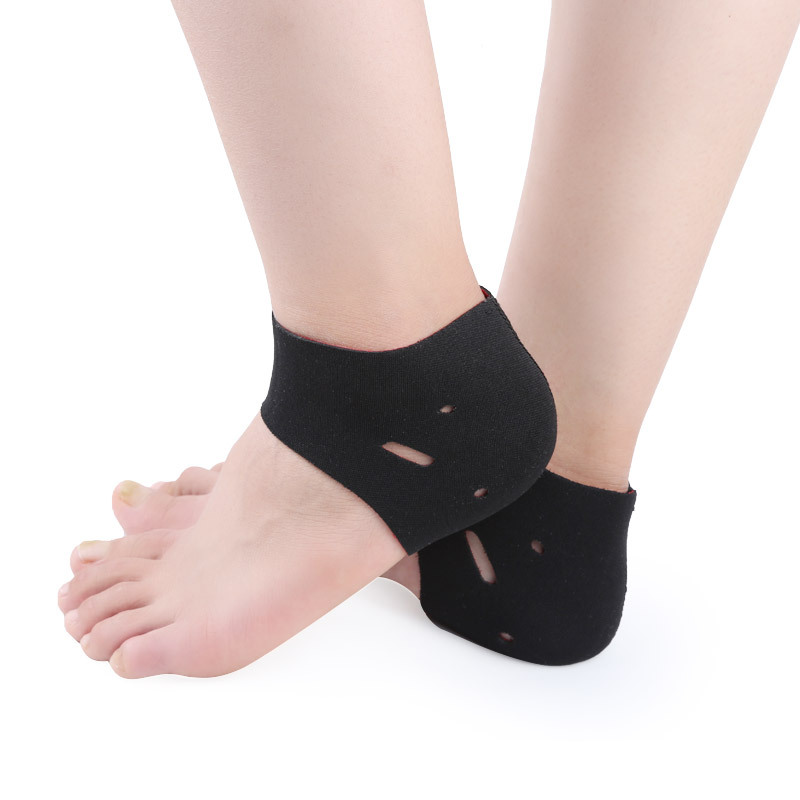 02eed8c142 2pcs/pair Plantar Fasciitis Therapy Yoga Wrap Heel Foot Pain Arch Support  Ankle Brace Heel Warm Protector Insole Orthotic