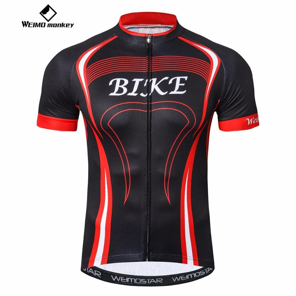 Weimomonkey Road cycling jersey youth Short sleeve Men ...