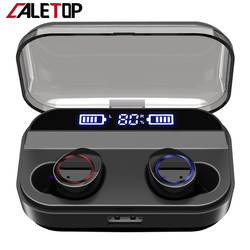 CALETOP X11 TWS Wireless Earphone Bluetooth 5.0 Earphones Power Display Touch Control Sport Stereo Cordless Earbuds Charging Box