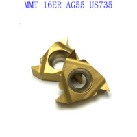 ag55 vp15tf ue6020 us735 20PCS MMT 16ER AG55 VP15TF / UE6020 / אשכול US735 קרביד הכנס הפיכת כלי חיתוך כלי מחרטה כלי כרסום CNC קאטר כלי (3)