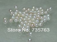 xiuli 000105 Natural Rare white 10pcs AAA 6mm luster round pearl