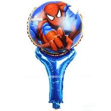 25pcs/lot 18inch cartoon spider-man aluminium foil balloon animals abnormity shape balloons children classic toys balloons