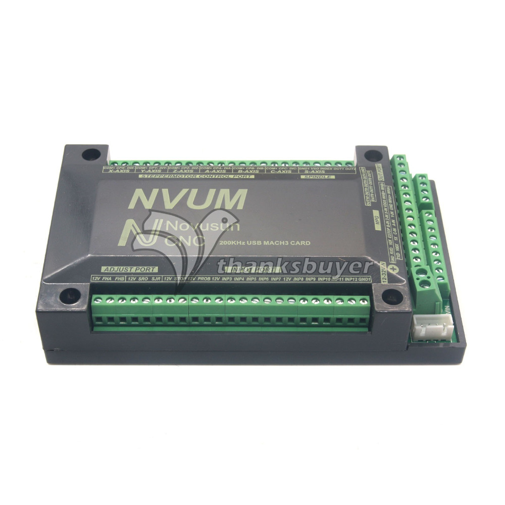 3 Axis 4 Axis 5 Axis 6 Axis Controller USBMACH3 Interface Breakout Board Card CNC 200KHz