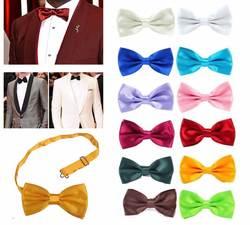 Классическая мода новинка Мужские Регулируемый смокинг галстук-бабочка Bowtieformal галстук мальчик бизнес Свадебные Мужской платье рубашка