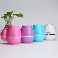 Wholesale 300ML Ball Humidifier With Aroma Lamp Essential Oil Ultrasonic Electric Aroma Diffuser Mini USB Air