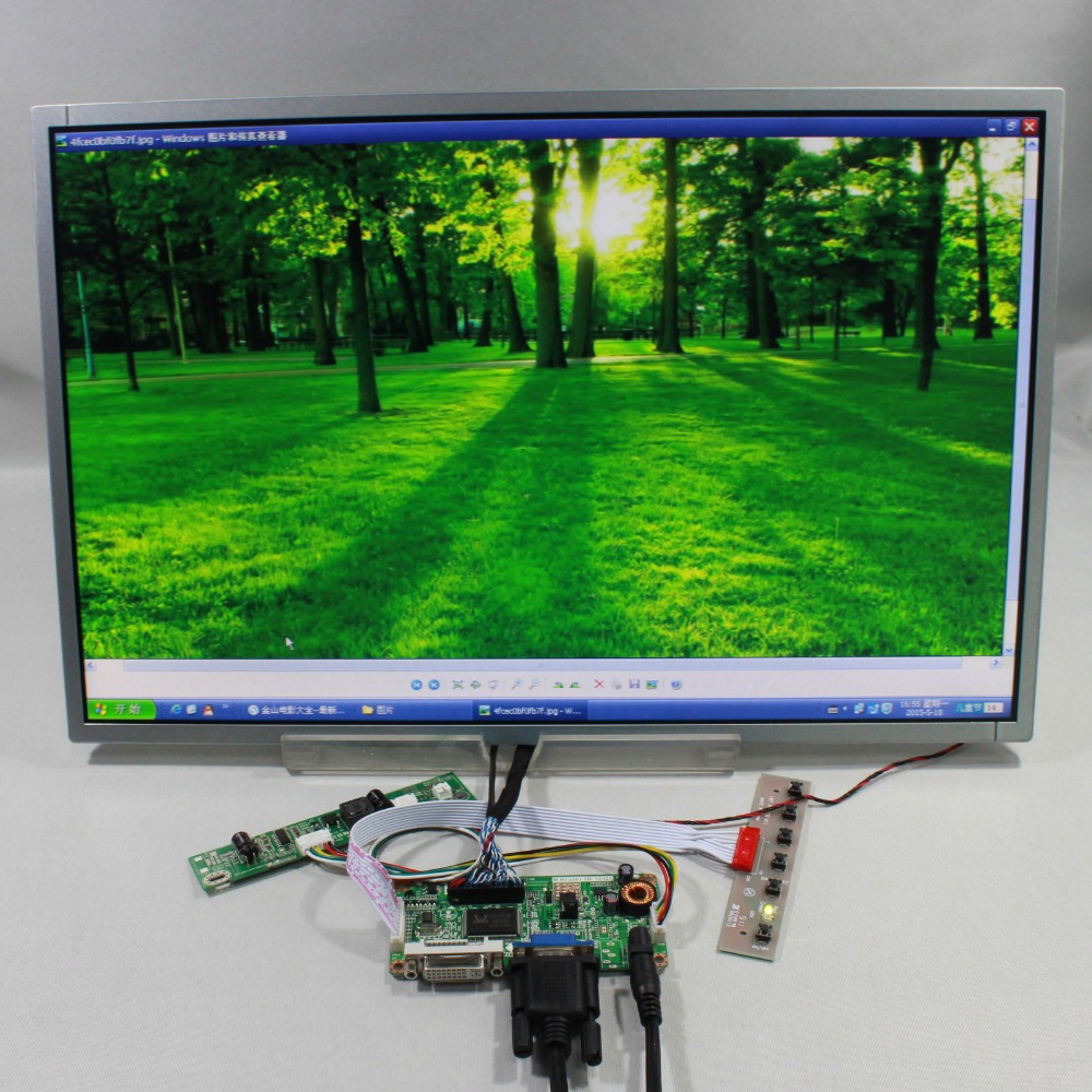DVI VGA LCD controller board RT226 19inch M190CGE-L20 M190PW01 V8 1440X900 lcd 8 4 8 inch industrial control lcd monitor vga dvi interface metal shell open frame non touch screen 800 600 4 3