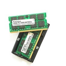Ddr2 ram 4 gb 667 pc2 5300 mhz so dimm notebook, memoria ram ddr2 800-6400 mhz 533-4200 mhz sdram 200PIN