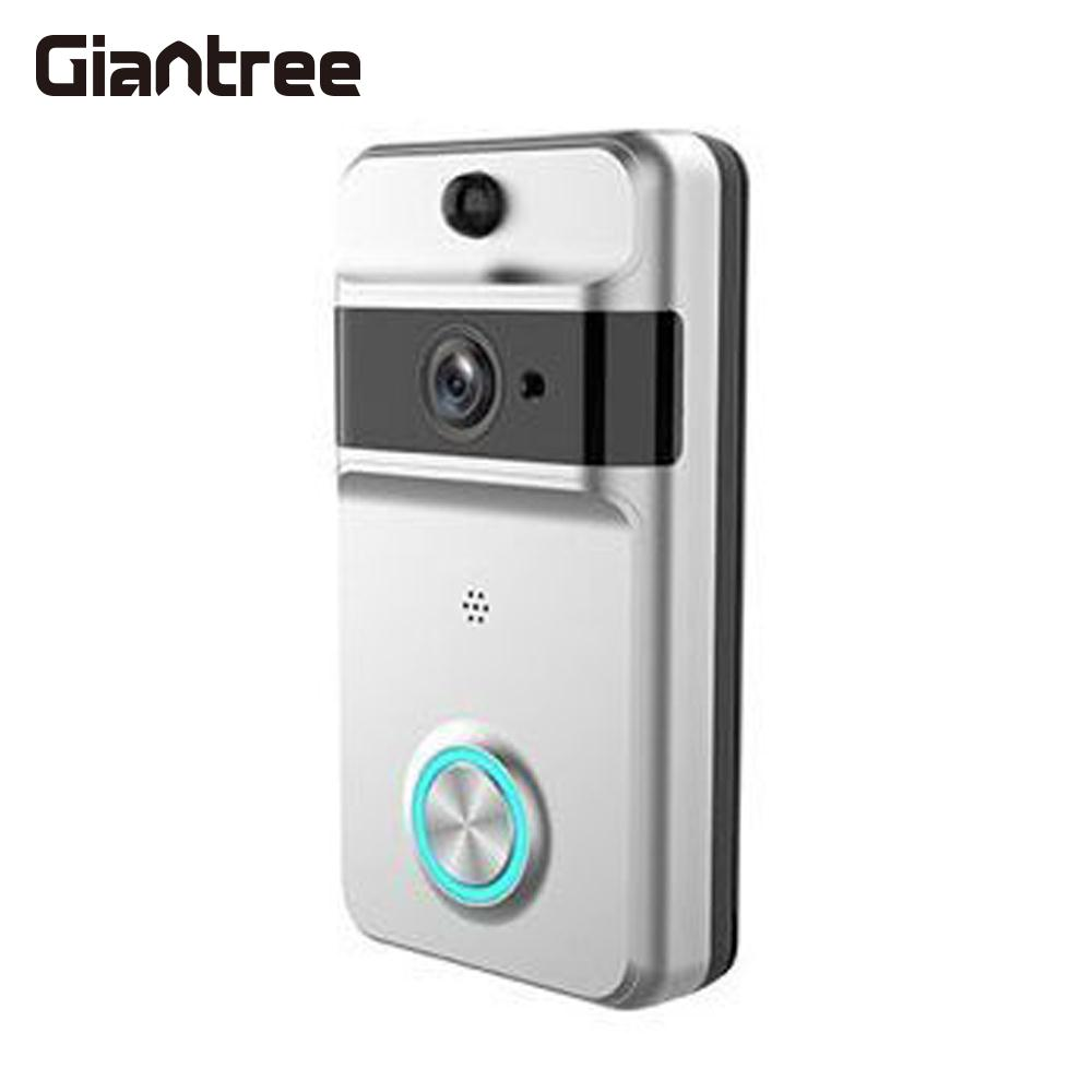 720 P HD téléphone vidéo sonnette multifonctionnel bidirectionnel Audio sonnette caméra Wifi vidéo interphone interphone vidéo sonnette Wifi