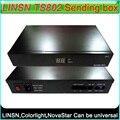 LINSN TS802 Отправки карты СВЕТОДИОДНЫЙ дисплей контроллера внешней отправки коробка, Поддержка Colorlight NovaStar Отправки карты, Поддержка яркость