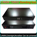 LINSN TS802 Sending card LED display controller external sending box,Support NovaStar Colorlight Sending card,Support brightness