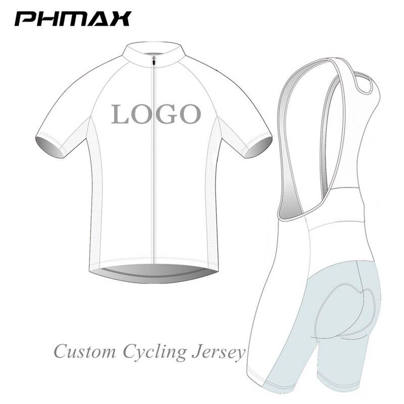 PHMAX Pro Customized Cycling Set Ropa ciclismo Custom Bike Custom Cycling Clothing Affordable Custom Cycling Jerseys
