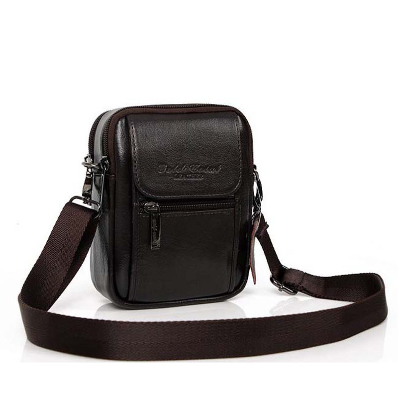 ba302949a6ea Detail Feedback Questions about Famous desiger gold coral genuine leather  small messenger bags for men crossbody one single shoulder bags belt waist  bag ...