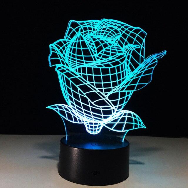 Diy Kunstbloemen Met Led verlichting Closet Night Batterij Lamp ...