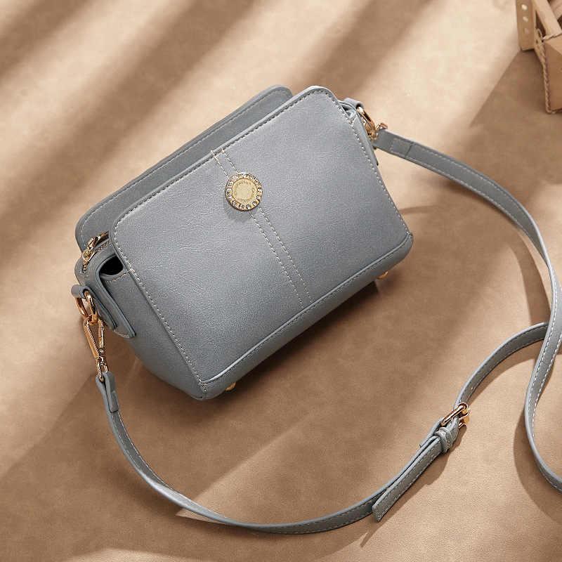 Kualitas Tinggi Tas Selempang Bahu Wanita Kulit Asli Tas Tangan Tote Tas Fashion Tas Messenger Bag Ukuran Besar Gelandangan Wanita T88
