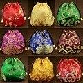J-Bg Pink10cm * 10 см Новый Китайской Спецификой Мешок Этническом Стиле Портмоне Старинные Вышитые Сумки Традиционной Вышивки бумажник