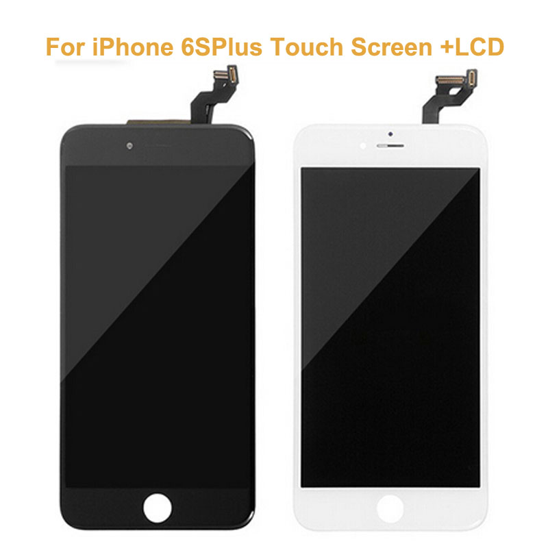 3 PCS/LOT New Original Black White Touch Screen Digitizer Glass Sensor For iPhone 6S Plus+LCD Display Panel Screen Replacements