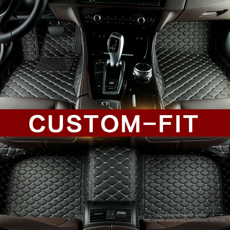 Special made car floor mats for Audi A6 S6 A4 S4 Allroad Avant A3 A5 A7 A8 waterproof good case car styling carpet rugs liners