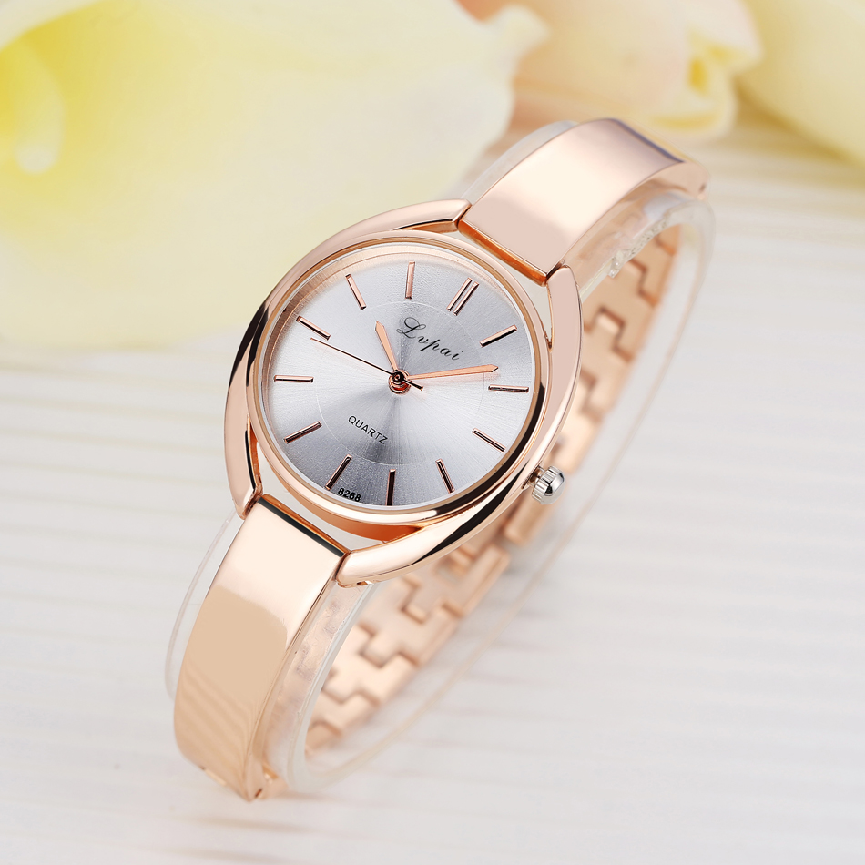 2017 Lvpai Brand Luxury Women Bracelet Watches Fashion Ladies Dress Wristwatch Business Casual Quartz Watch Clock Electronic kimio brand bracelet watches women reloj mujer luxury rose gold business casual ladies digital dial clock quartz wristwatch hot