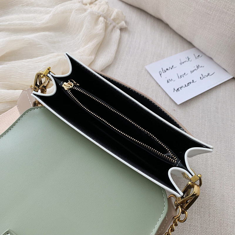 Mini Leather Crossbody Bags For Women 2019 Green Chain Shoulder Messenger Bag Lady Travel Purses and Handbags  Cross Body Bag 19