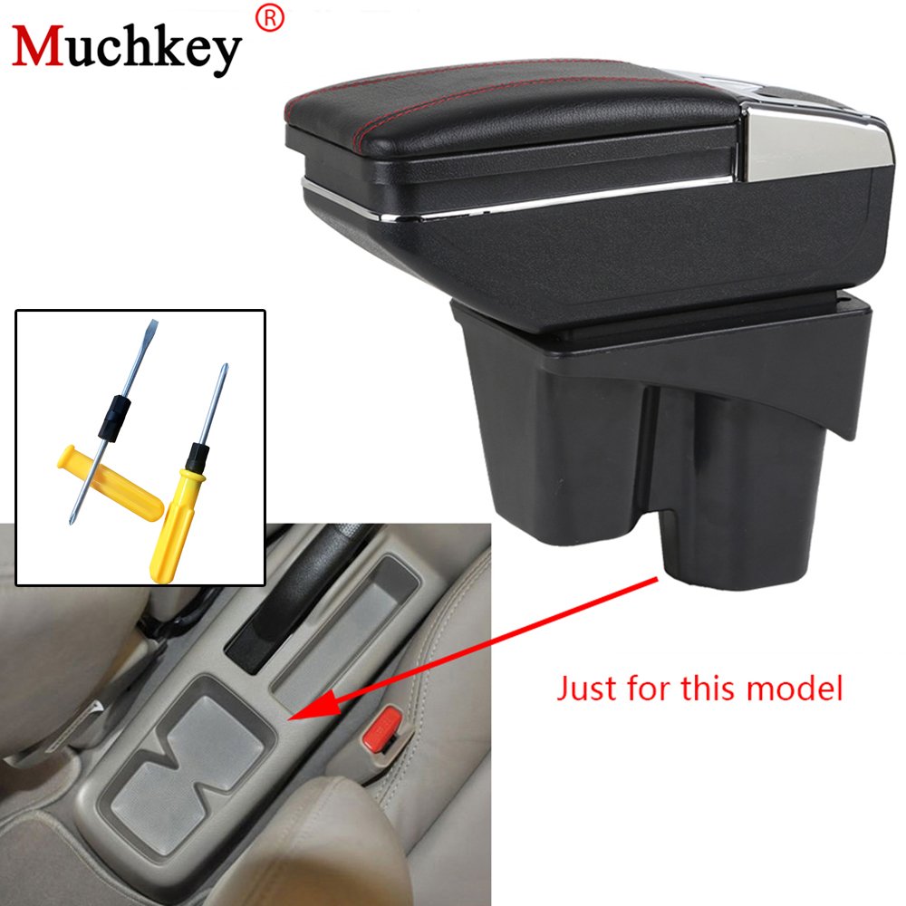 Armrest box For Honda City 2006 2007 2008 2009 central Console Arm Store content box cup holder ashtray interior car styling universal leather car armrest central store content storage box with cup holder center console armrests free shipping