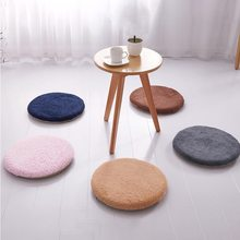 16 Inch Round Non Slip Chair Cushion Indoor Outdoor Area Rug For Camping Patio