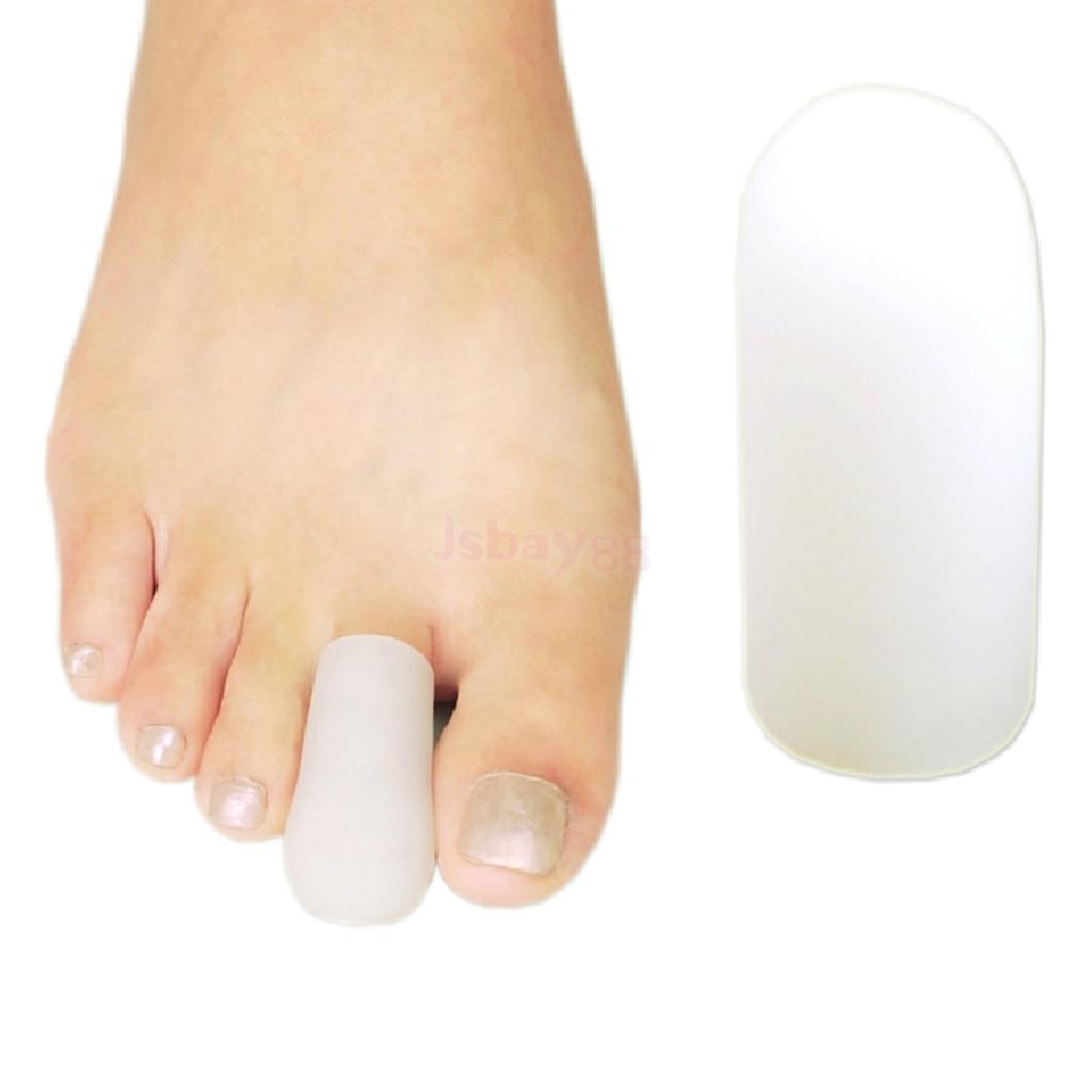 Footful Gel Protective Toe Cap Stainless Steel Nail Clipper for ...