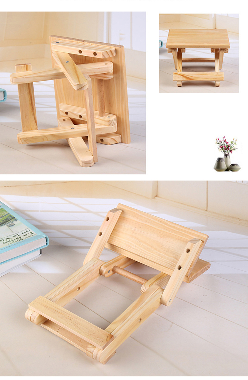 Groovy Portable 24X19X17 8 Cm Beach Chair Simple Wooden Folding Stool Outdoor Furniture Fishing Chairs Modern Small Stool Camping Chair Pabps2019 Chair Design Images Pabps2019Com