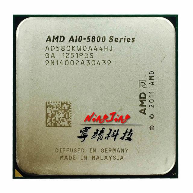 AMD A10-Series A10 5800K A10 5800 Quad-Core CPU Processor AD580KWOA44HJ Socket FM2