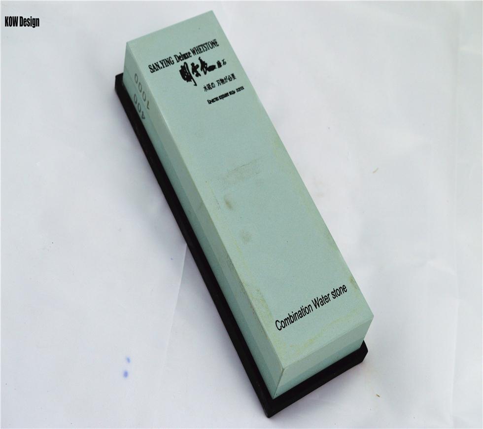 Sanying High quality 400 1000 grit Kitchen font b knife b font sharpener whetstone Grinder water