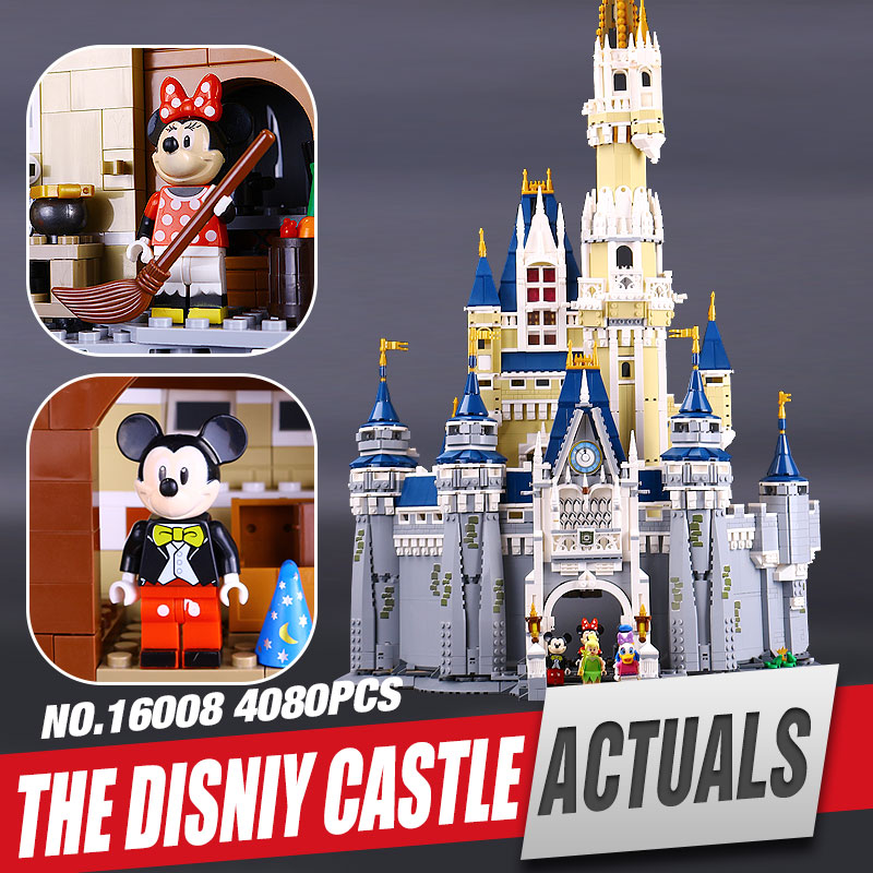 font b LEPIN b font 16008 Creator Cinderella Princess Castle City 4080pcs Model Building Minifigures