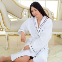 Pajamas Dressing Gowns For Women Women S Print Full Sleeve Terry Cotton Sleep Lounge Robes Women