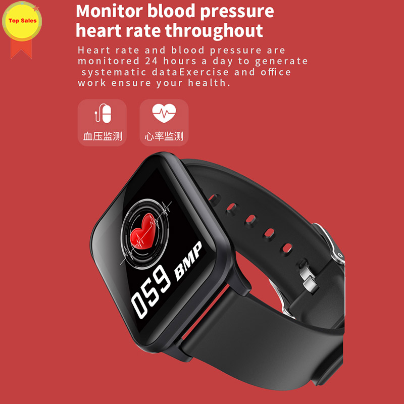Sport Smart Watch 2019 PPG Heart Rate Monitor Blood Pressure Tracker IP67 Waterproof For Android IOS Smartwatches men Wristband in Smart Watches from Consumer Electronics
