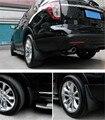 4 pcs Preto Frente + Traseira Lamas Mud Flaps Respingo Guarda Fender Para Ford Explorer 2011-2015 & 2016 facelift