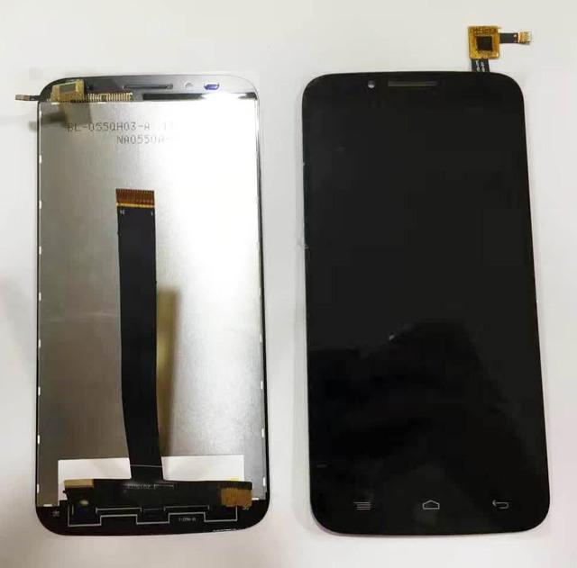 """5.5 """"LCD con Pantalla Táctil Digitalizador Asamblea Negro para Umi eMAX lcd envío libre con número de seguimiento."""