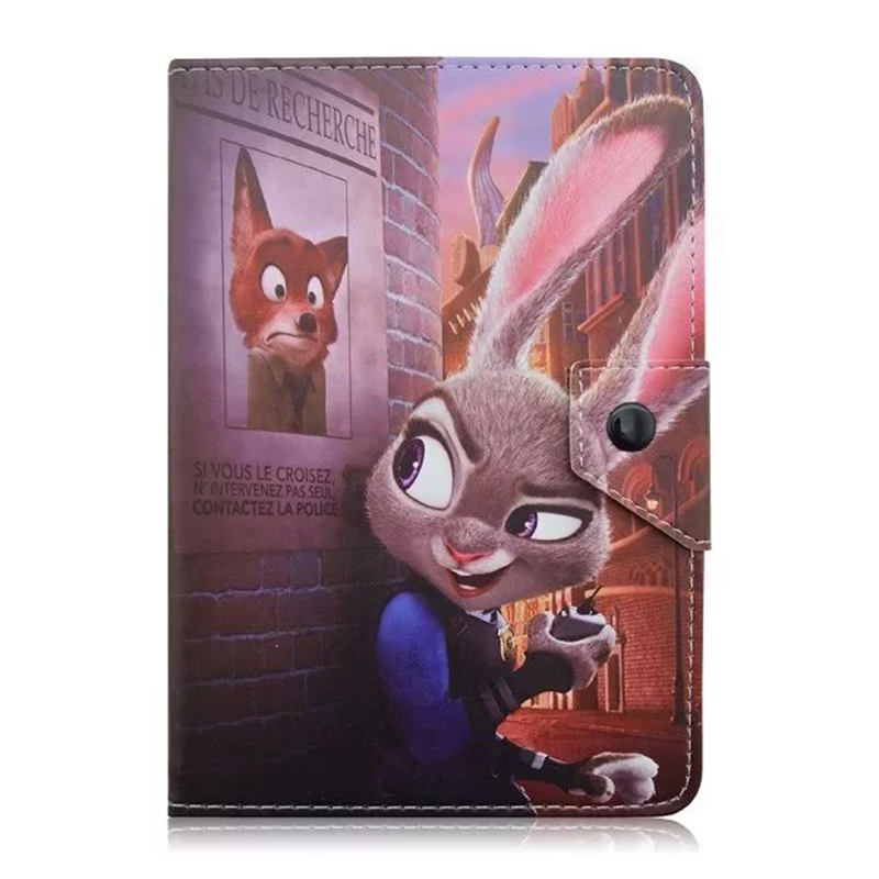 """New Universal 7"""" inch Leather Case Cover Stand For Android Tablet for Ainol Novo7 Novo 7 Tornados/Tornad w/Center Film D492A"""