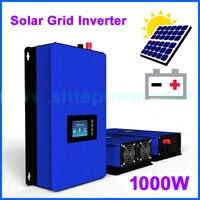 1000W on Grid Tie Inverter Solar Panels Battery Home Power PV System Sun 1000G2 DC 22 65V 45 90V AC 90V 130V 190V 260V