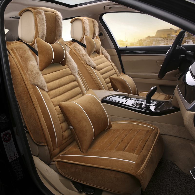3D Winter Car Seat Covers Cushion Styling For Kia Sorento Sportage Optima K5 Forte Rio K2 Cerato K3 Carens Soul Cadenza